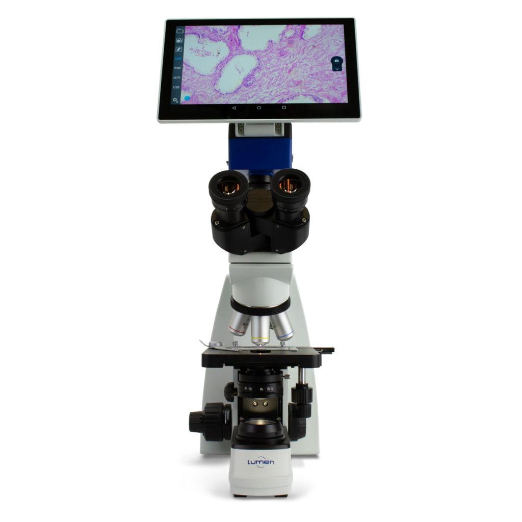 Microscópio Biológico Trinocular LM3200TLI